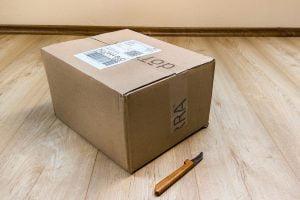Gambar informasi penting untuk pengiriman barang